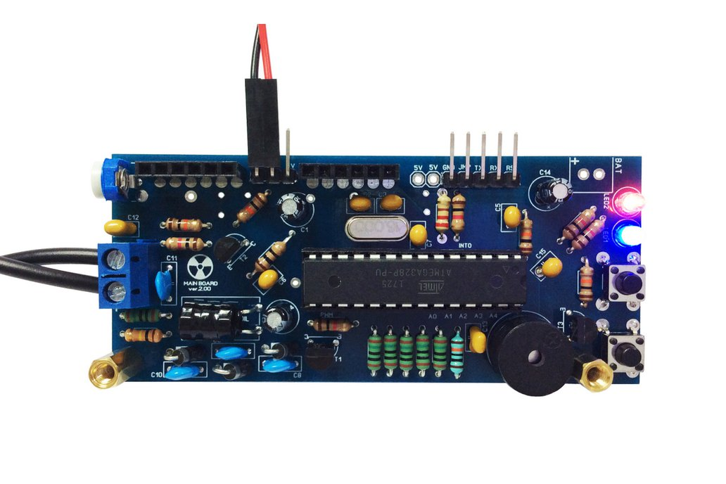 Arduino IDE Geiger Counter DIY Kit ver.2 with LCD 3