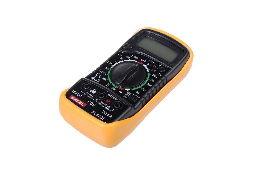 LCD Digital Voltmeter Ohmmeter Ammeter Tester  7
