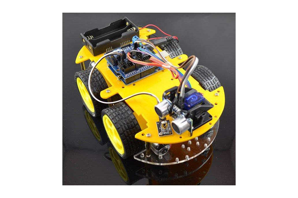Multifunction Bluetooth Controlled Robot Car Kit 1