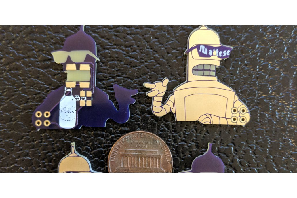Future-O-Rama Golden Bend-her Robot SAO 4