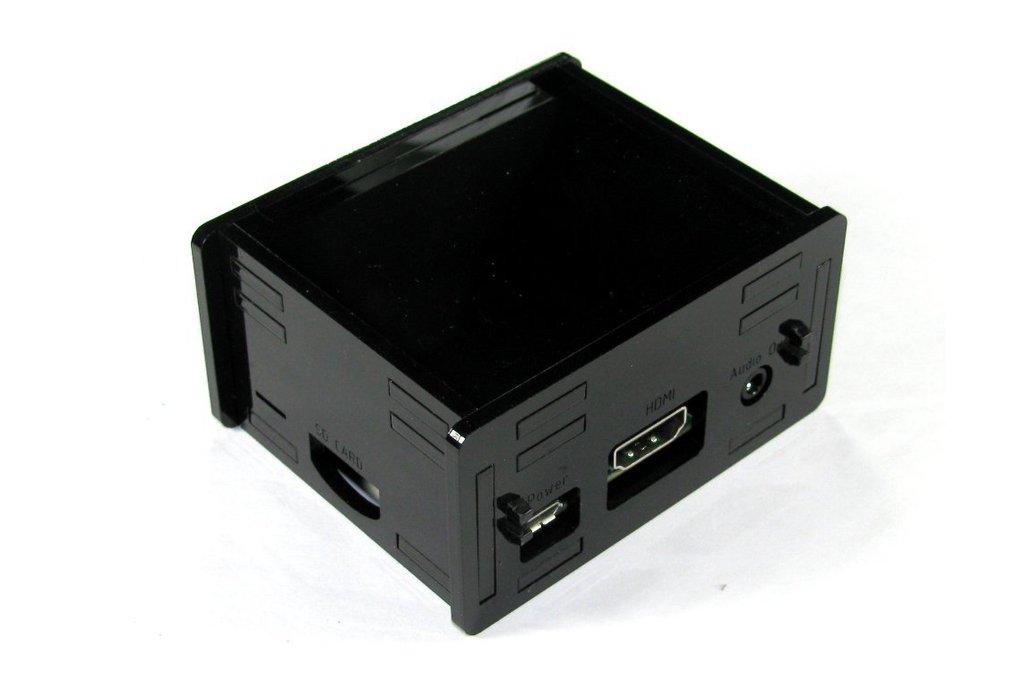 Black Raspberry Pi A+ Case 3