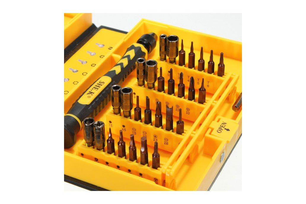Professional Electronic Screwdriver Repair Kit 5
