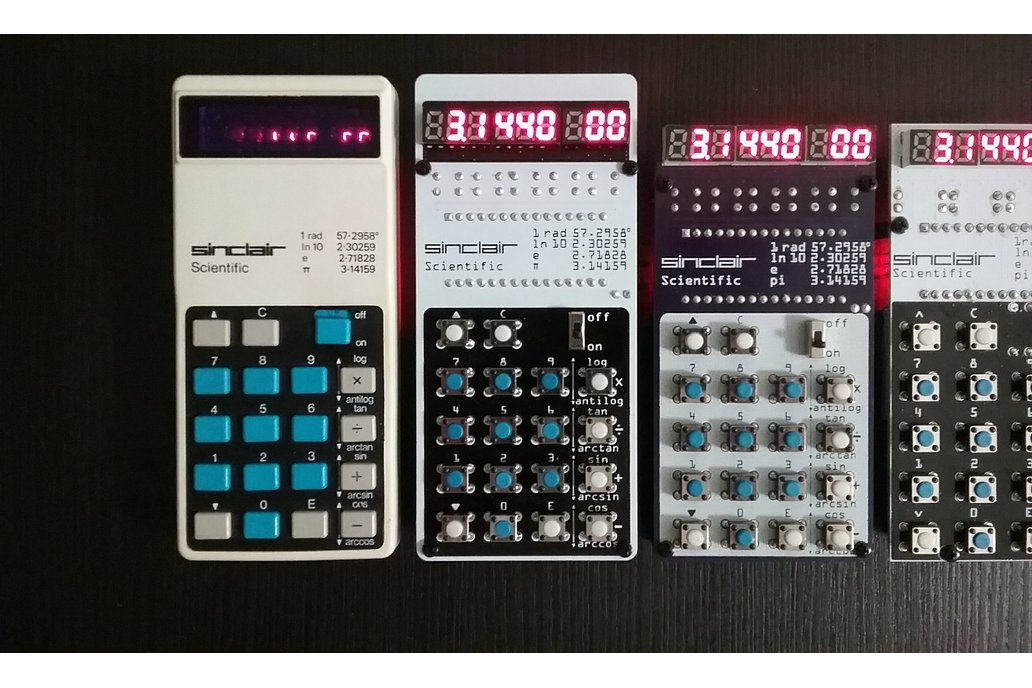 Sinclair Scientific Calculator Emulator 12