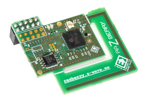 RaZberry - Z-Wave shield for Raspberry Pi