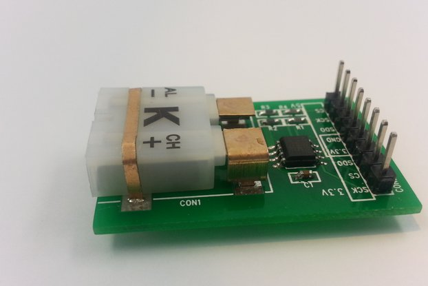 K Type Thermocouple Breakout Board - MAX31855