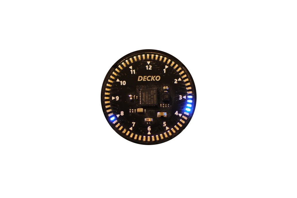 DECKO Circuit Face LED Watch - Assembled PCB Only 1
