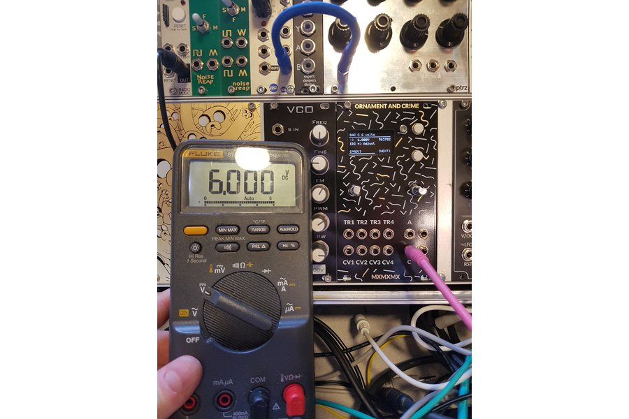 Ornament and Crime | Complete Eurorack Module
