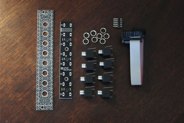 Eurorack Active Multiples Module (Kit)