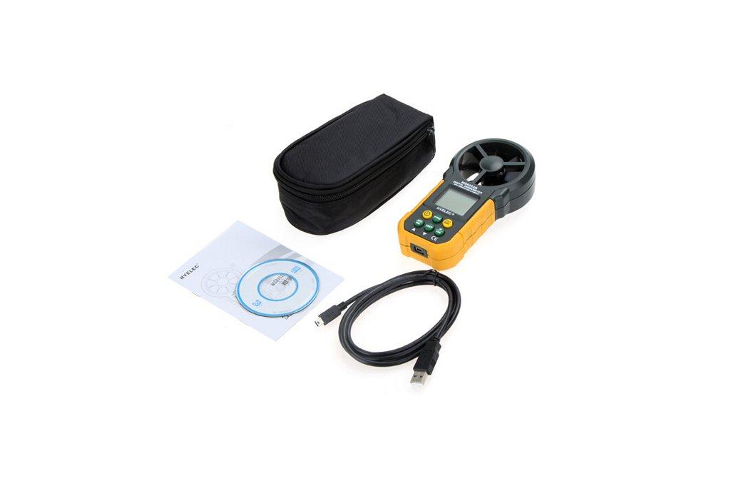 Multi. Digital Anemometer/Tachometer  4