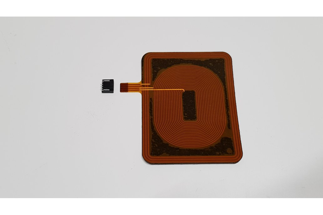 Wireless charging coil flex antenna with NFC 8