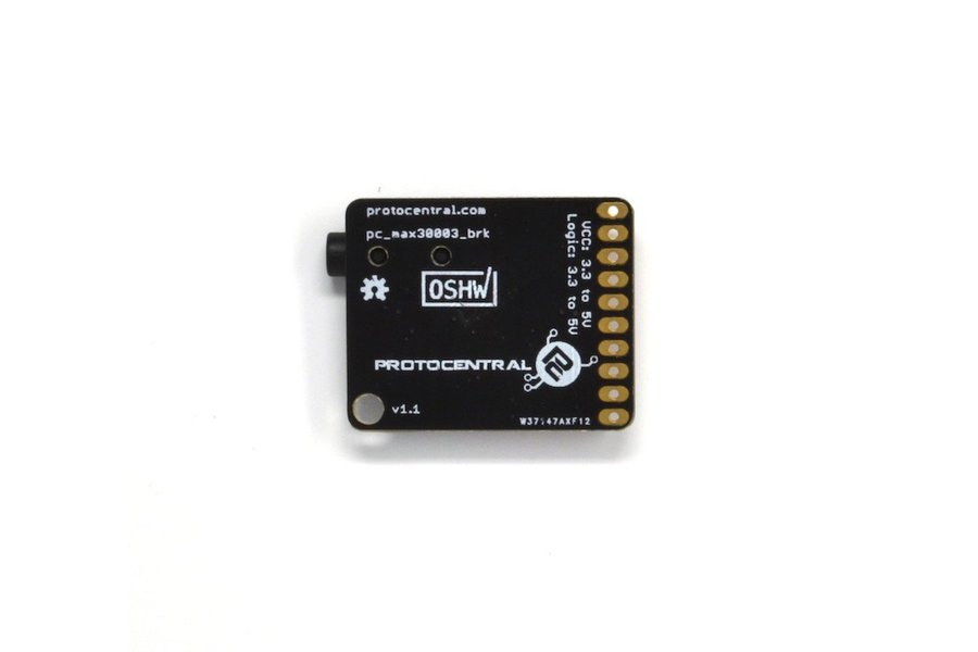 MAX30003 Single-lead ECG Breakout Board