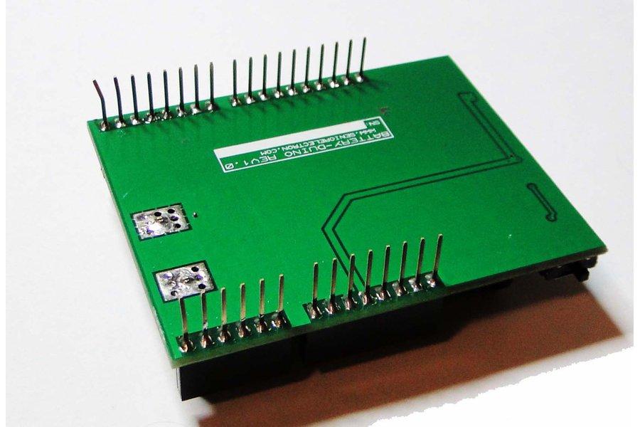 BatteryDuino - Battery shield for Arduino