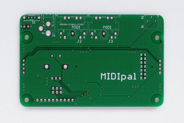 MIDIpal Midi Processor PCB