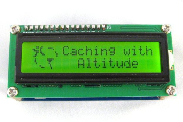 Arduino based Altitude Geocache
