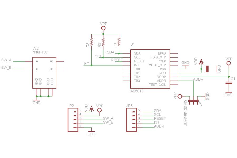 Easy Point Joystick - N40P107 + AS5013