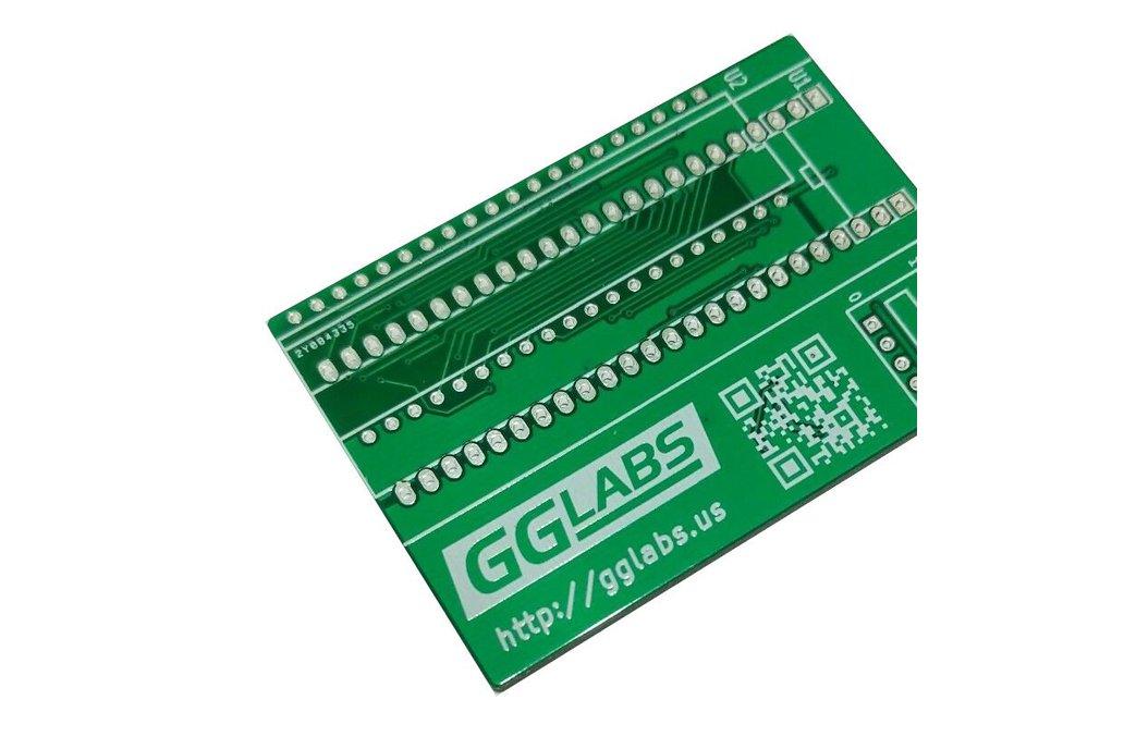 27C400/800/160/322 TL866 programming adapter PCB 1