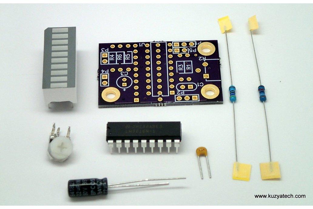 LM3916 LED bargraph/ VU meter - pick your color 5