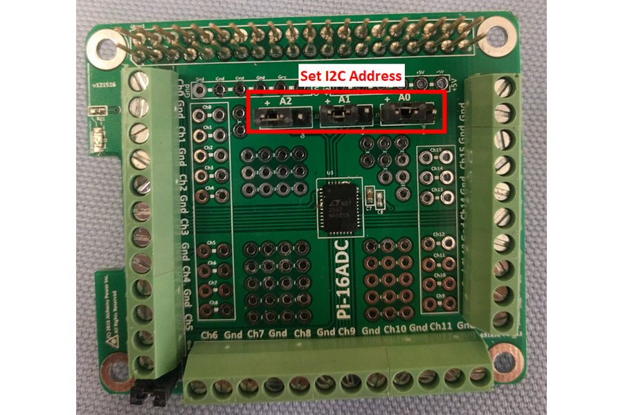 Pi-16ADC - 16 Channel, 16 bit ADC