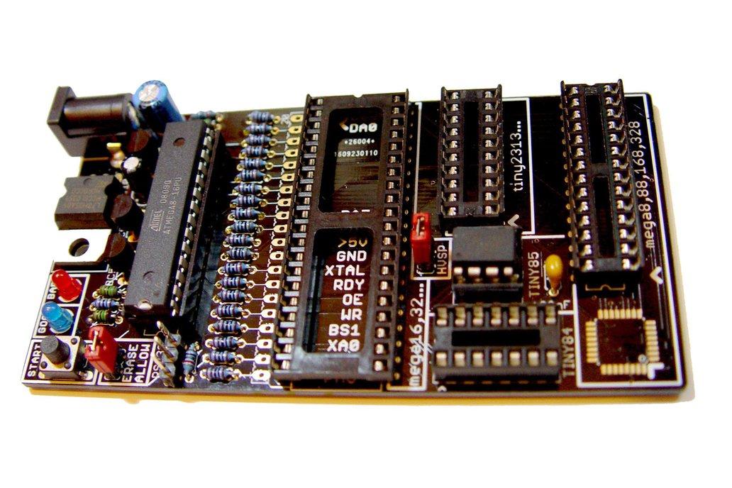 Bare PCB AVR fuse bit doctor HVPP  HVSP fix repair 6