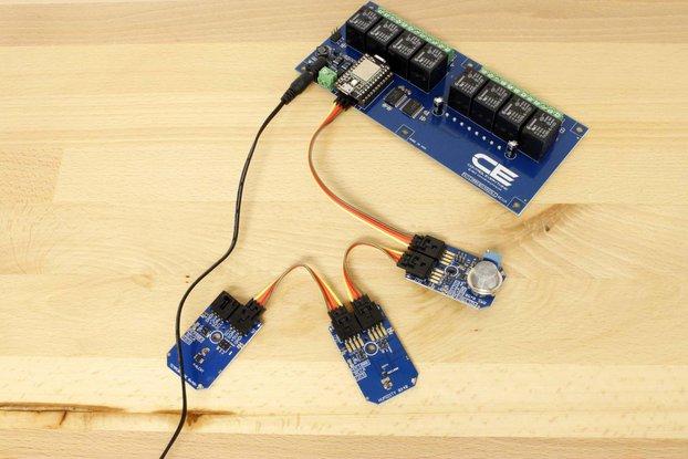 MCP9803 High Accuracy Temperature Sensor.