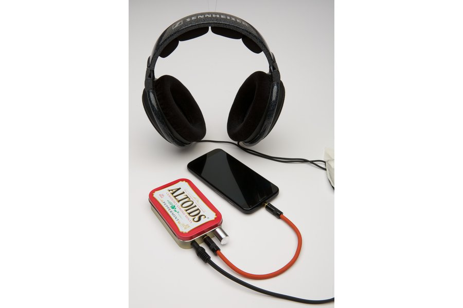 CMOY Headphone Amplifier- Choice of Tin