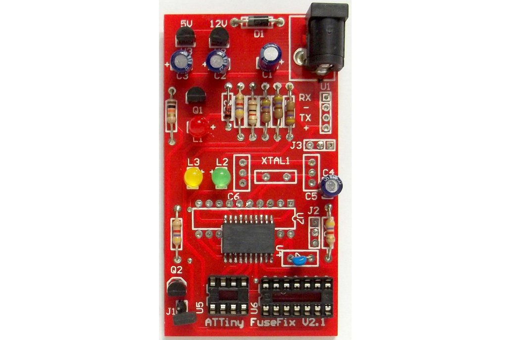 ATTINY Fuse Repair Programmer/Fuse Doctor 1