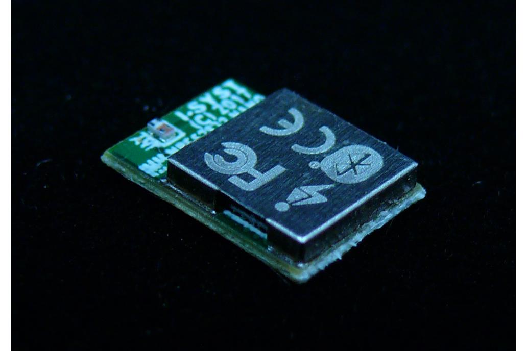 Nano size ANT+, Bluetooth5, ARM M4F, 30 I/O module 1