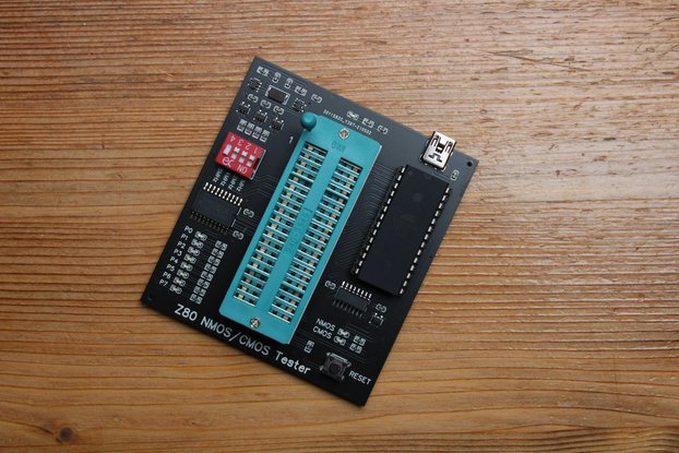 Z80 CPU NMOS / CMOS tester