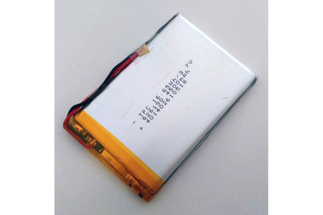 3.7V real 4500mAh Lithium Battery 2