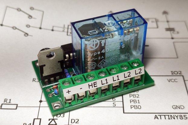 3D Printer auto power off module