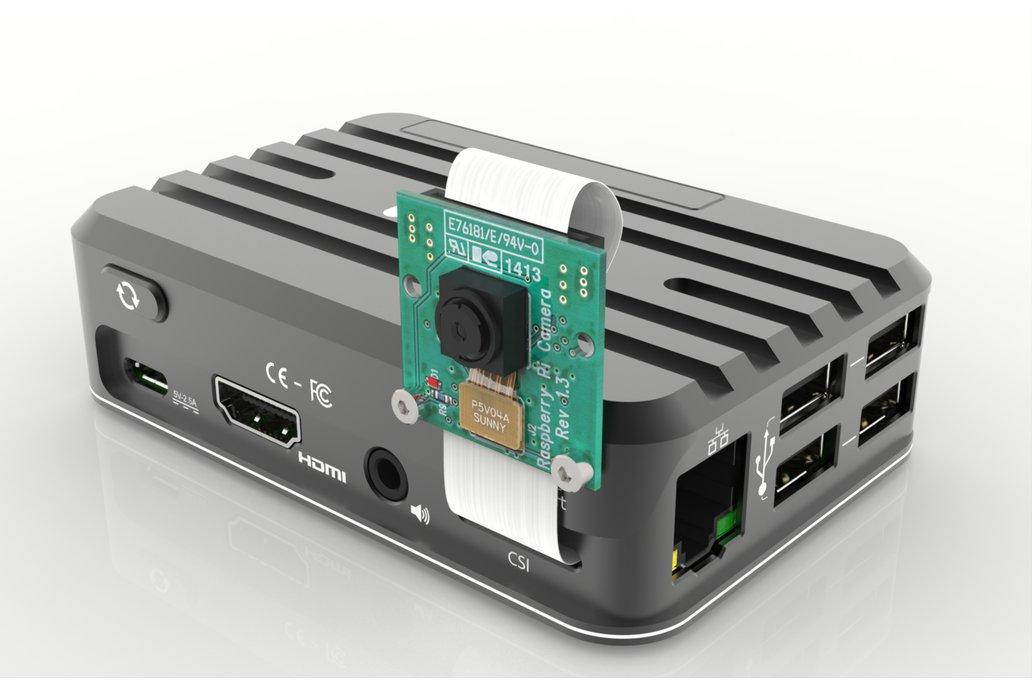 Aluminum Case for Raspberry Pi 3 12
