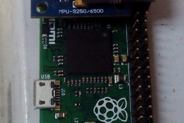 raspberry pi imu hat mpu9255