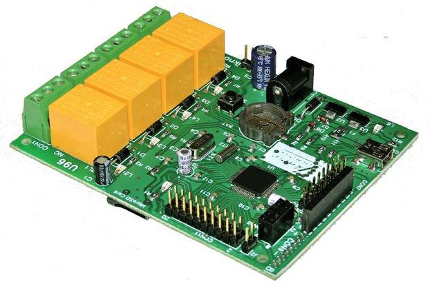 U96 USB relay & DAQ card