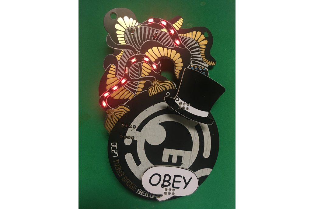 TV3Y3 Indie Badge for DEF CON 27 1