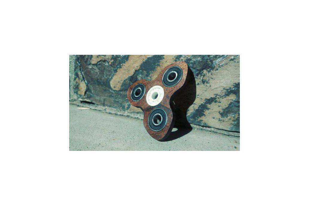 Turbine Wooden EDC Hand Spinner Fidget Toy 1