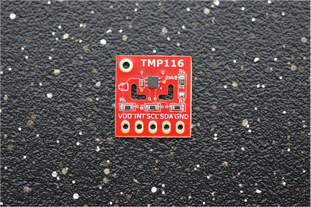 TMP116 ±0.2°C (–10°C..+85°C)  Temperature Sensor 1