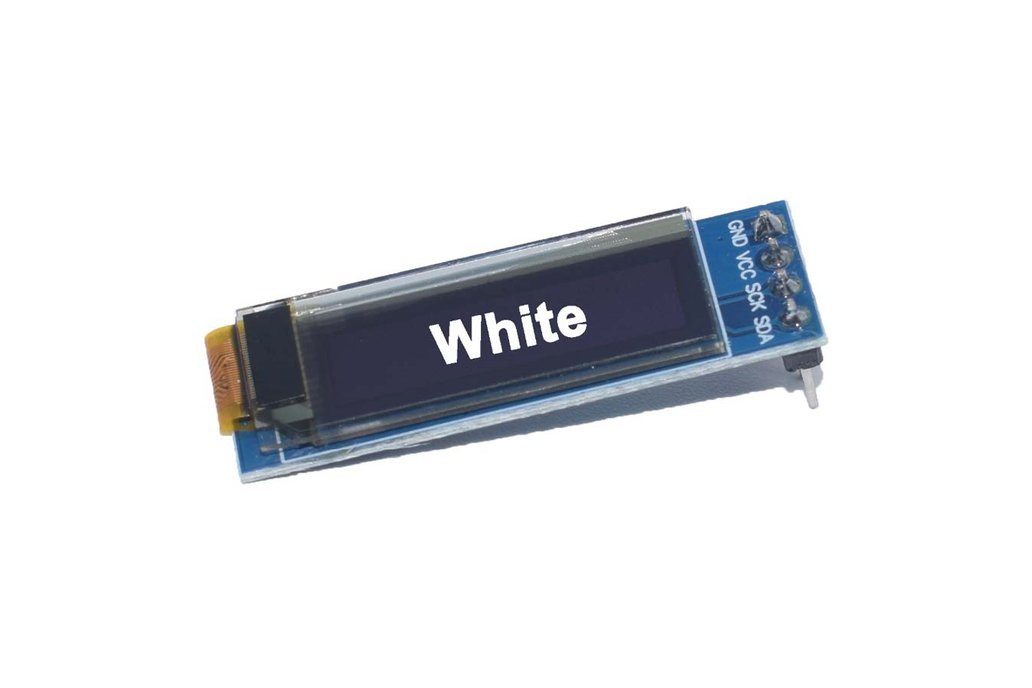 0.91 inch LCD OLED module white 128X32 for ardunio 1