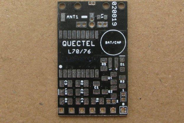 Breakout Board Quectel L70 and L76 GPS