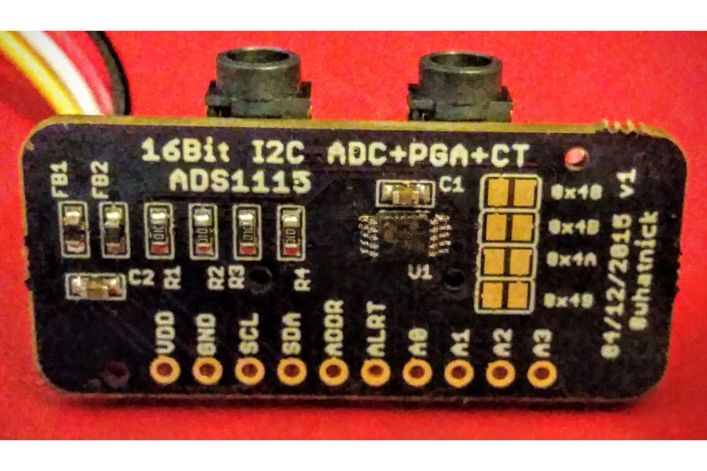 ADS1115 Module with CT/Grove Connectors 1