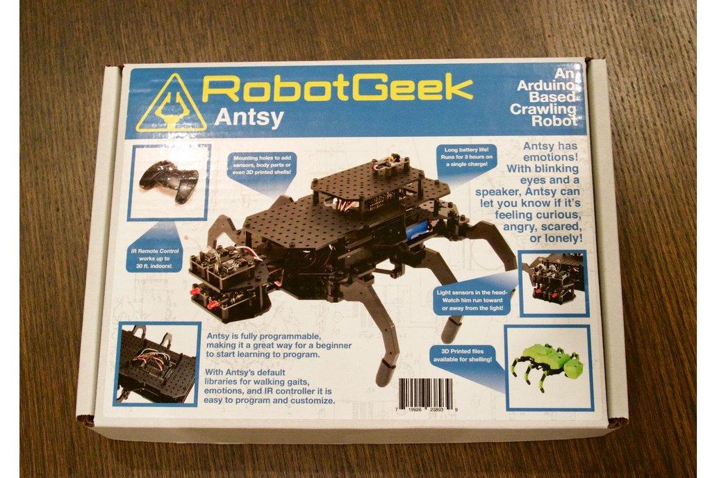 RobotGeek Antsy Hexapod Kit 3