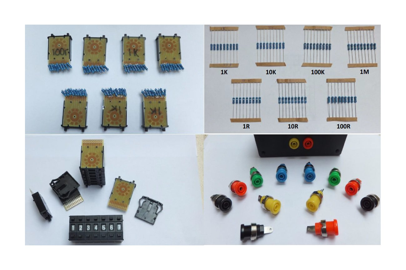 Resistance Decade Substitution  Box Kit