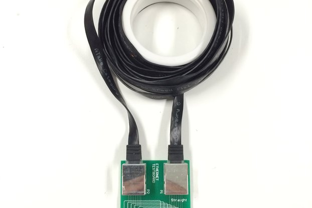 RJ-45 Ethernet Cable Tester!