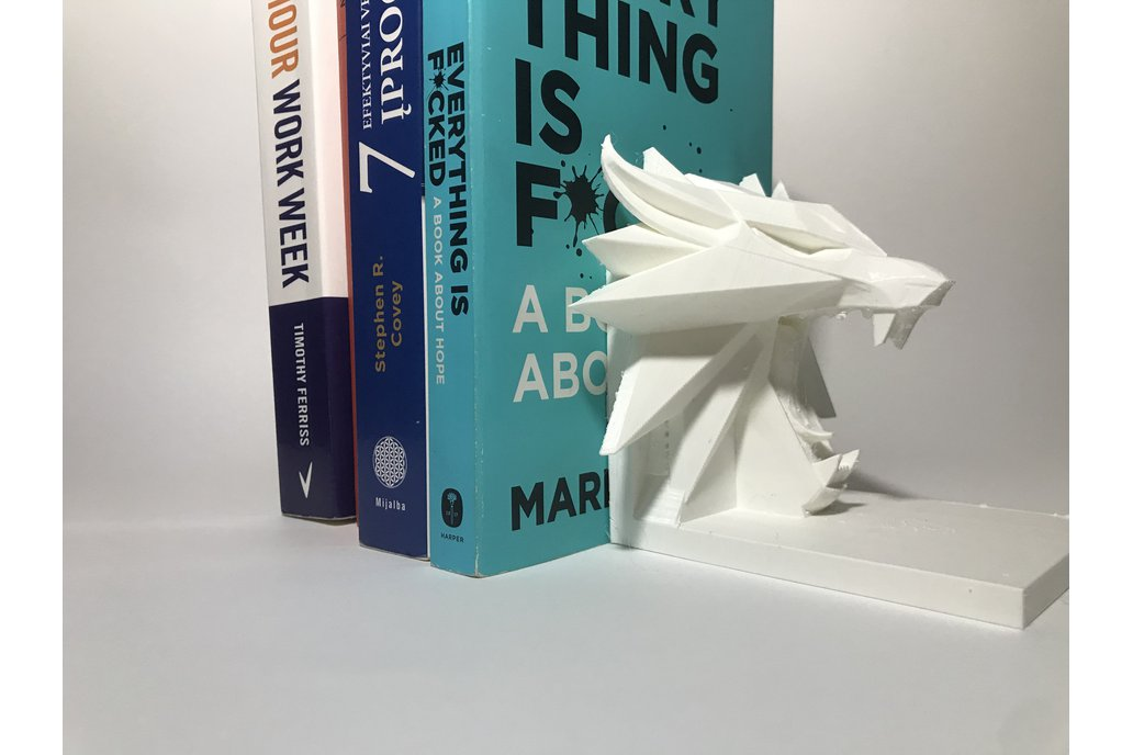 3D Printed BookEnd 1
