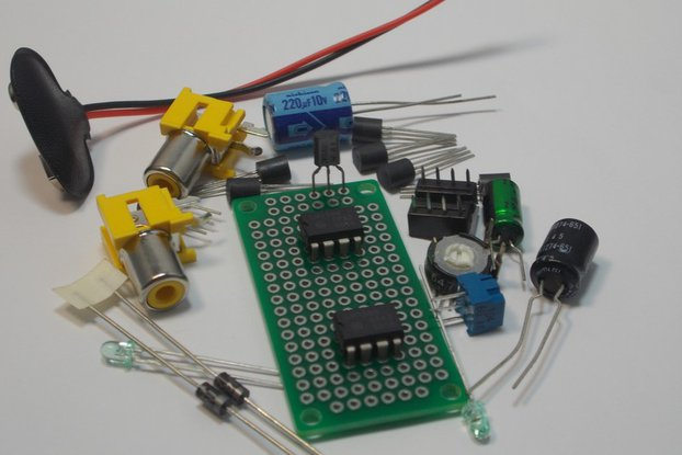 LF353 Dual JFET Op Amp Design Kit (#1285)