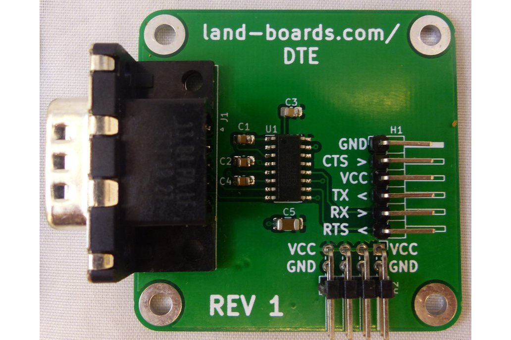 TTL to RS-232 (DCE or DTE) 1