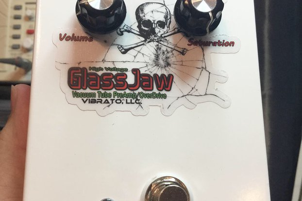GlassJaw Vacuum Tube OverDrive Guitar Foot Pedal