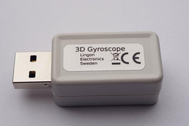 USB 3D Gyroscope