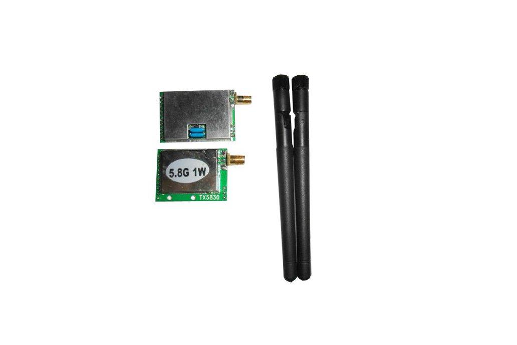 1W 5.8G high power wireless radio module kit 1