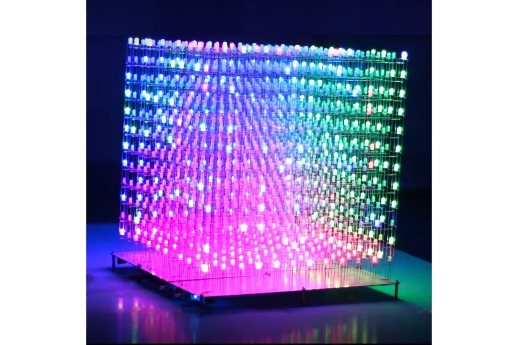 Diy Kit - AuraCube - rgb Led Cube 12x12x12 1