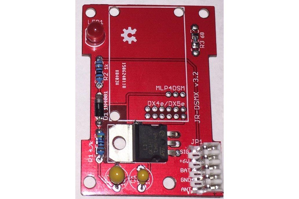 DSM2 / DSMX Module Carrier For OpenTX Radios 1
